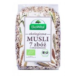 Musli 7 zbóż z amarantusem BIO 300 g EkoWital