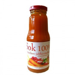 Sok marchew jabłko malina B-C 300 ml