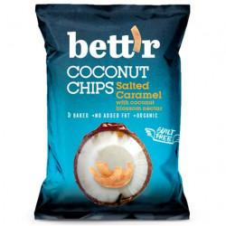 Chipsy z kokosa ze słonym karmelem BEZGL. BIO 40 g