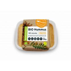 Hummus z karmelizowaną cebulką i oliwą z oliwek BIO 150 g