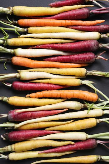 Jakiego koloru jest marchewka?