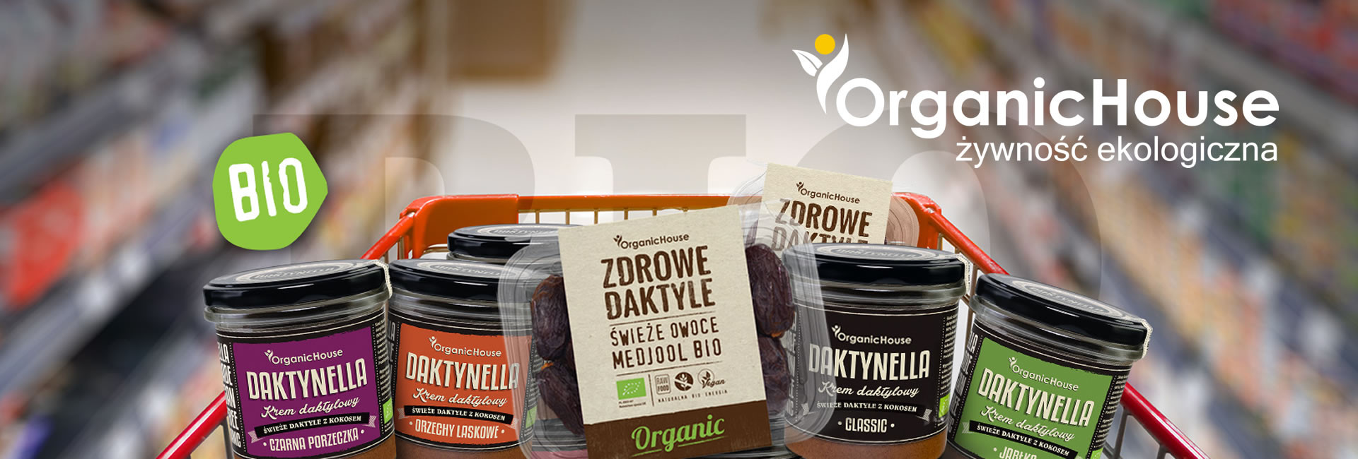 Organic house żywność ekologiczna